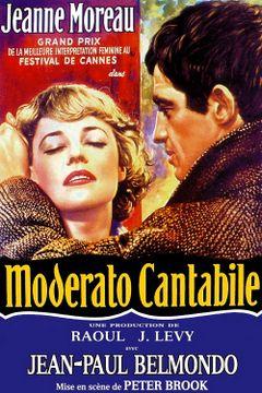 Affiche Moderato cantabile