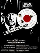 Affiche Maigret voit rouge