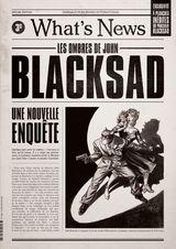 Couverture Blacksad : What's News ?