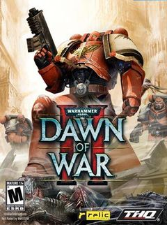 Jaquette Warhammer 40,000 : Dawn of War II