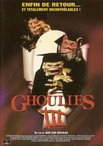 Affiche Ghoulies Go to College (Ghoulies 3)