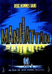 Affiche Deux hommes dans Manhattan