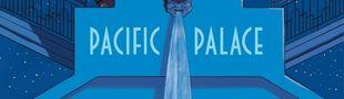 Couverture Pacific Palace - Une aventure de Spirou et Fantasio, tome 18