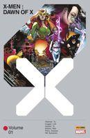 Couverture X-Men : Dawn of X, tome 1