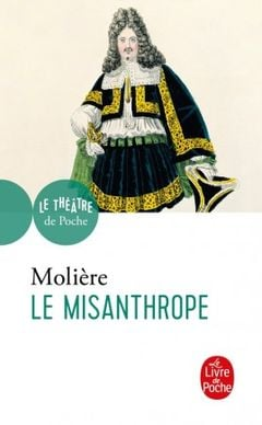 Couverture Le Misanthrope