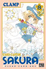 Couverture Card Captor Sakura : Clear Card Arc, tome 8