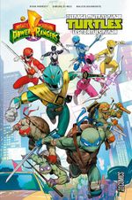 Couverture Power Rangers & Tortues Ninja