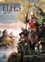 Couverture Leah'saa L'elfe rouge - Elfes, tome 29