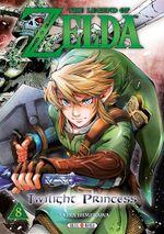 Couverture The Legend of Zelda: Twilight Princess - Tome 8