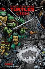 Couverture Travail D'équipe - Teenage Mutant Ninja Turtles Classics, tome 2