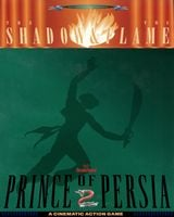 Jaquette Prince of Persia II : The Shadow and the Flame