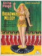 Affiche Broadway Melody