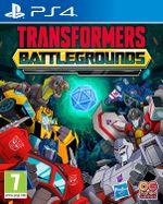 Jaquette Transformers Battlegrounds
