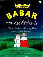 Affiche Babar, roi des éléphants
