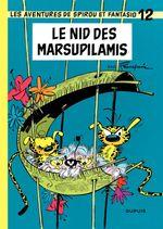 Couverture Le Nid des marsupilamis - Spirou et Fantasio, tome 12