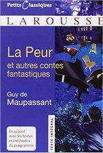 Couverture La peur et autres contes fantastiques de Guy de Maupassant