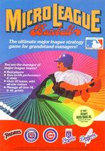 Jaquette MicroLeague Baseball