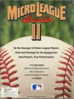 Jaquette MicroLeague Baseball II