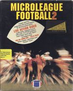 Jaquette MicroLeague Football 2
