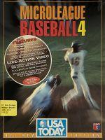 Jaquette MicroLeague Baseball IV