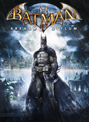 Jaquette Batman: Arkham Asylum