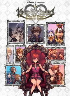 Jaquette Kingdom Hearts: Melody of Memory