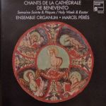 Pochette Chants de la Cathédrale de Benevento