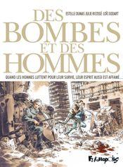 Couverture Des bombes et des hommes