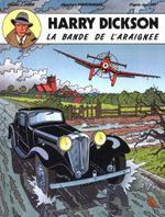 Couverture La Bande de l'araignée - Harry Dickson (Vanderhaeghe/Zanon), tome 1
