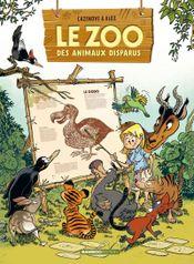 Couverture Le zoo des animaux disparus