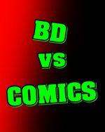 Affiche BD vs COMICS