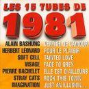 Pochette Les 15 Tubes de 1981