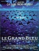 Affiche Le Grand Bleu : Version longue