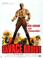 Affiche Doc Savage arrive