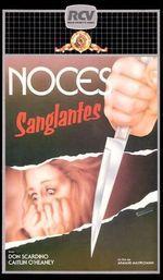 Affiche Noces Sanglantes