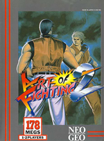 Jaquette Art of Fighting 2