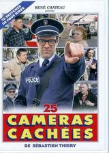 Affiche Les 25 caméras cachées de sébastien thiéry