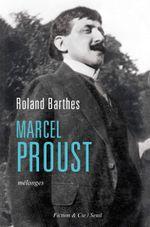 Couverture Marcel Proust