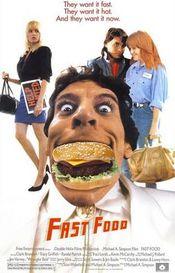 Affiche Fast Food