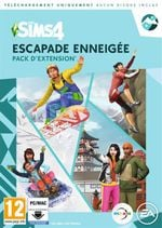 Jaquette Les Sims 4 : Escapade Enneigée