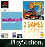 Jaquette WipeOut 3 Special Edition / Destruction Derby 2