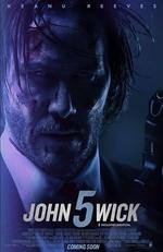 Affiche John Wick 5