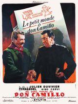 Affiche Le Petit Monde de Don Camillo
