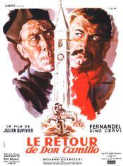 Affiche Le Retour de Don Camillo