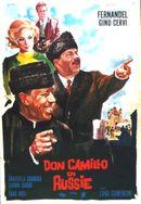 Affiche Don Camillo en Russie
