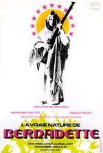Affiche La Vraie Nature de Bernadette
