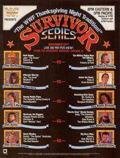 Affiche Survivor Series 1989