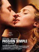 Affiche Passion simple