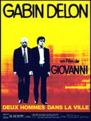 Affiche Deux hommes dans la ville