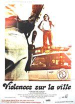 Affiche Violences sur la ville